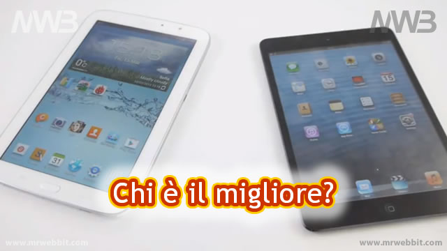 Meglio Samsung Galaxy Note 8.0 oppure Apple iPad mini?