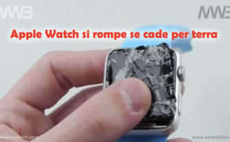 apple watch se cade per terra si rompe