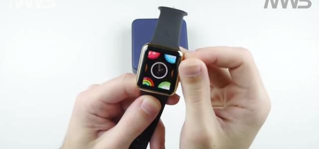 apple watch oro si rompe in un campo magnetico