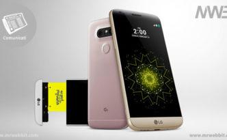 LG G5 lo smartphone con fotocamera grandangolare