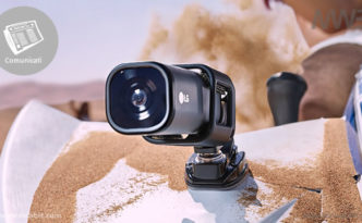 Video in streaming con LG ACTION CAMLTE, la ActionCam di LG