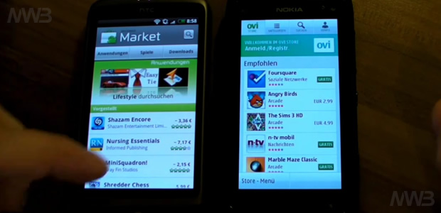 Htc Desire sfida Nokia N8