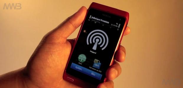 Nokia N8 HotSpot WiFi