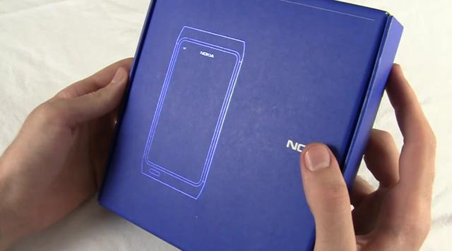 Unboxing Nokia N8