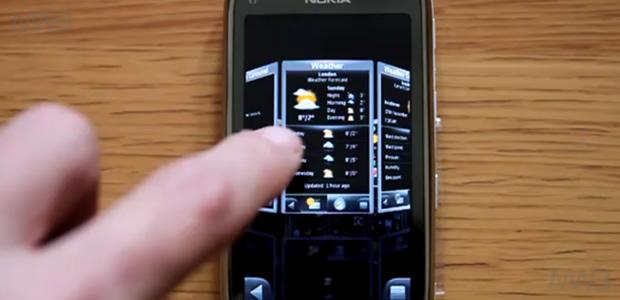 SPB Mobile Shell su Nokia C7