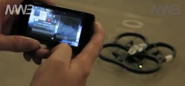 AR-drone e Nokia N900