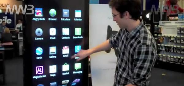 Nexus S schermo grande