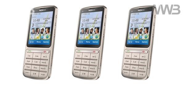 Nokia C3 contenuto della scatola