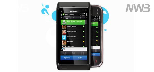 Nokia N8 e Skype
