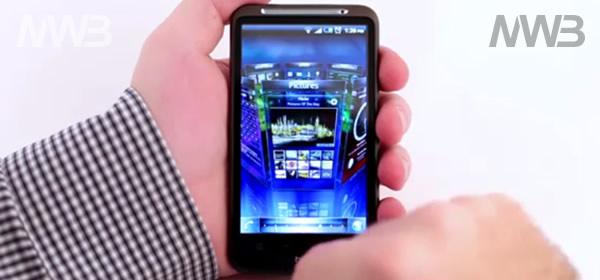 Home screen personalizzata SPB