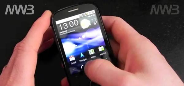 Vodafone IDEOS smartphone con android