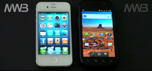 iPhone 4 sfida Google Nexus S
