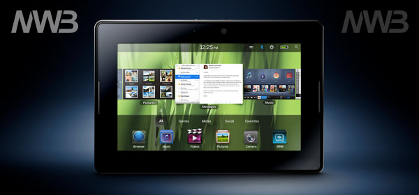 BlackBerry PlayBook il tablet anti iPad