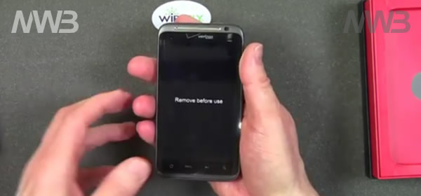 HTC ThunderBolt contenuto scatola