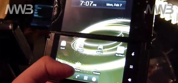 Kyocera Echo telefonino doppio schermo