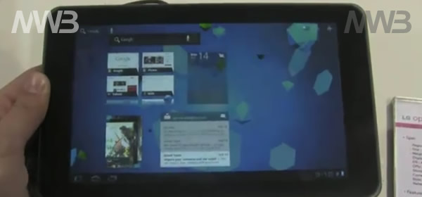 LG Optimus Tab il nuovo tablet