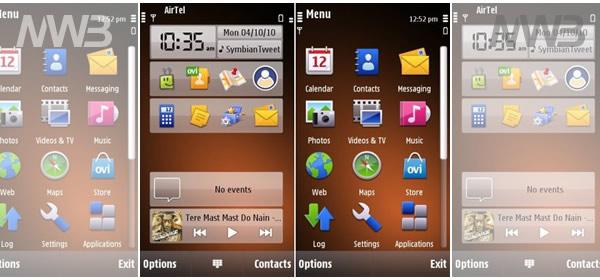come personalizzare i temi di Nokia N8
