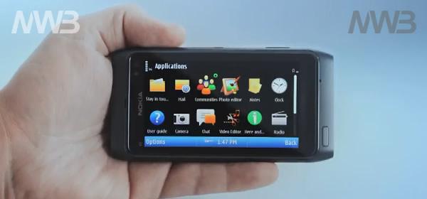 Nokia N8 organizziamo le nostre applicazioni
