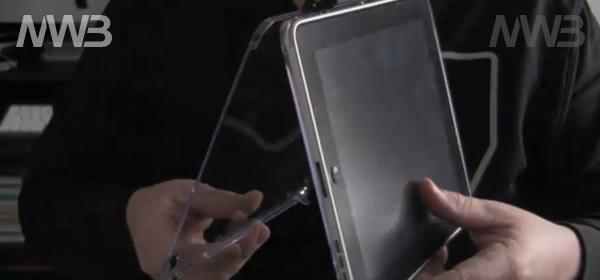 Protezione in plexiglass per iPad