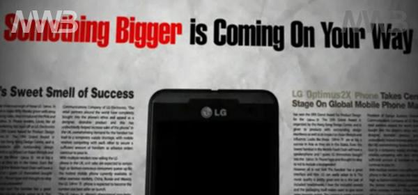 Smartphone 3D da LG, senza bisogno di occhialini e aggiornamento del sistema operativo Android