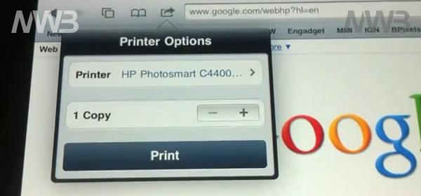 Stampare con iPhone 4 e Ipad configuriamo in meno di un minuto