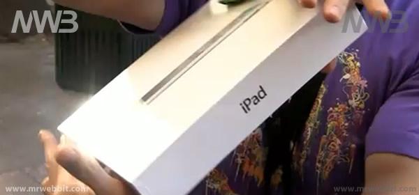 Contenuto della confezione e scatola di iPad 2