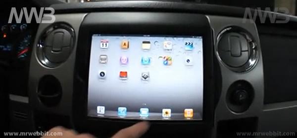 come montare ipad 2 nel cruscotto della nostra auto