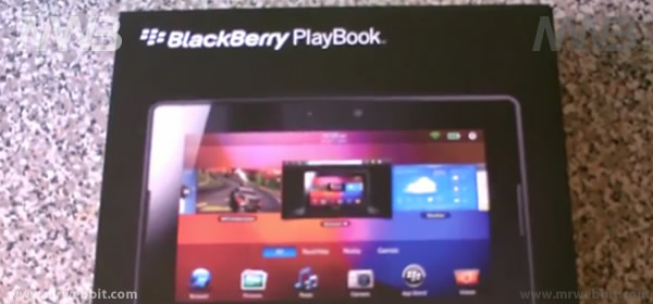 Scatola del BlackBerry PlayBook