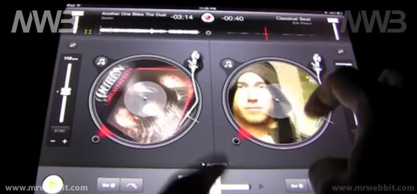 Un vero mixer emulato da iPad e iPad 2