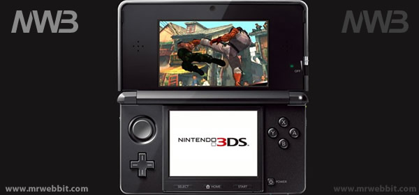nintendo 3ds consolle in 3d