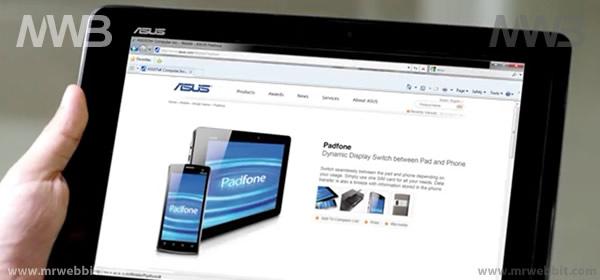 Asus Padfone 1 sim per due apparecchi