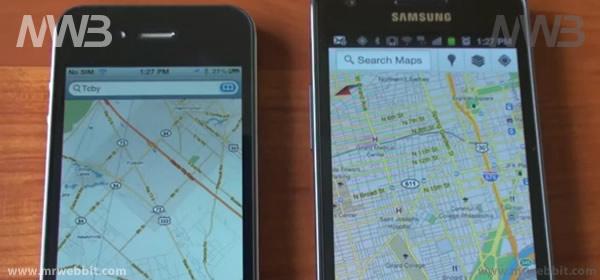 Google Maps per smartphone