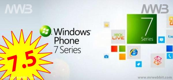 Windows phone 7.5 nuovo aggiornamento