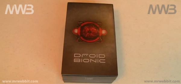 contenuto della confezione di vendita Motorola Droid Bionic Unboxing