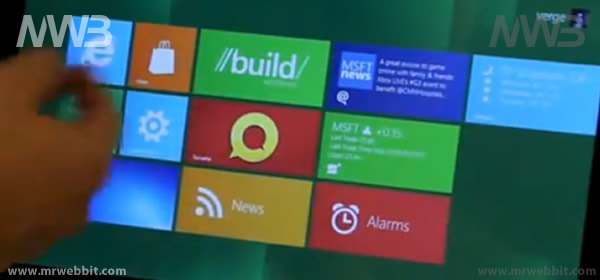 nuova interfaccia windows 8