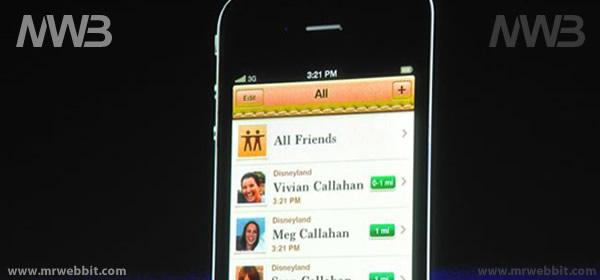 My Friends la nuova applicazione per iOS 5