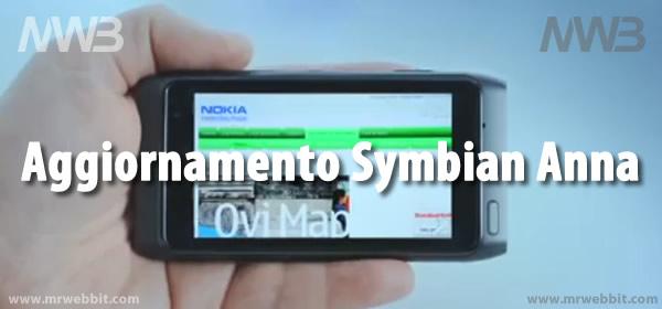 aggiornamento symbian anna per nokia n8