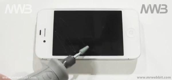 proteggiamo dai graffi e urti con una pellicola protettiva iphone 4s