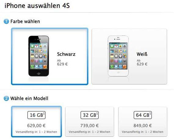 prezzi iphone in italia al momento non ci sono ma ci sono quelli tedeschi
