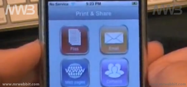 come stampare immagini, mail e pagine web wireless con iphone e ipad