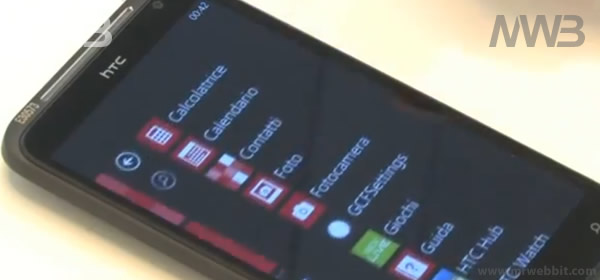 HTC titan con sistema operativo windows phone 7.5