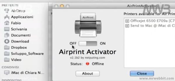 come stampare i nostri documenti da iphone e ipad con airprint