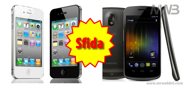meglio iphone 4s o samsung nexus google, i primi test hadware