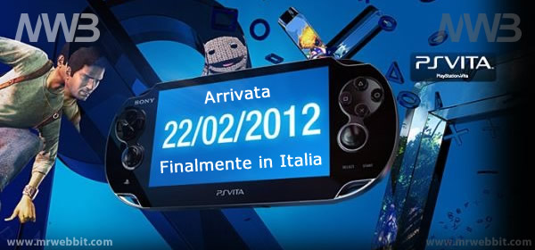 disponibile anche in italia la nuova sony playstation vita consolle portatile