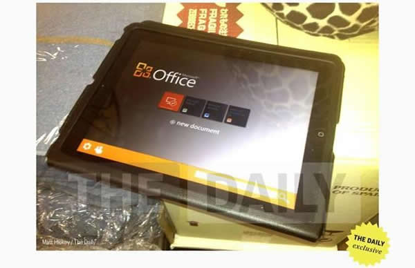 microsoft office per ipad fra qualche settimana il download dell'app