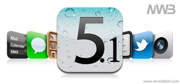aggiornamento sistema operataivo ios 5.1 per ipad e iphone