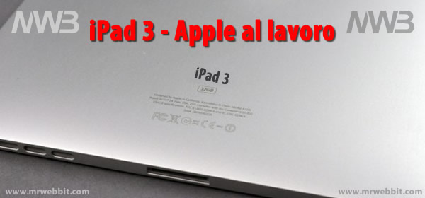 preparativi apple per la presentazione di ipad 3