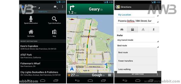 schermate nuovo aggiornamento google maps 6.5.0 gratuito per android