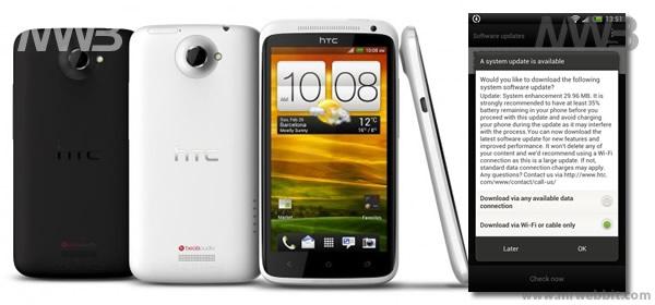 Aggiornamento firmware HTC One X 1.28.401.9