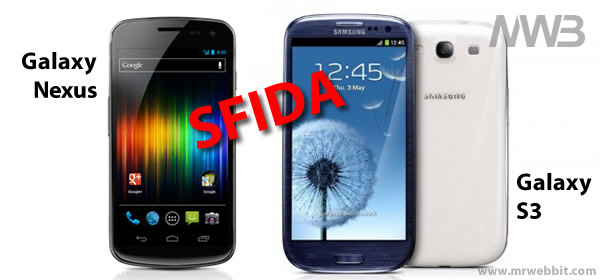 differenze fra samsung galaxy nexus e samsung galaxy s3